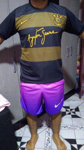 Camisas de times e shorts esportivo - Foto 4