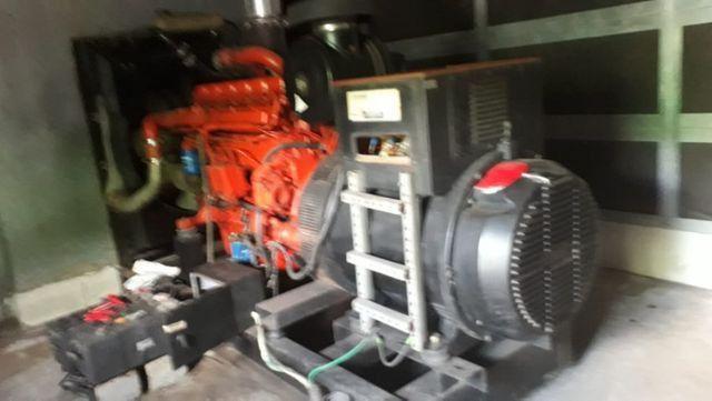 Grupo gerador 500 kVA - *Scania - Completo
