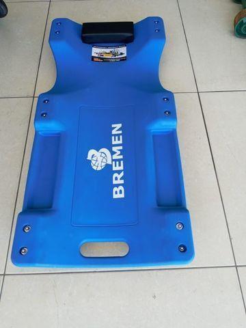 Esteira para mecanica 150kgs em plástico - 900mm cor azul