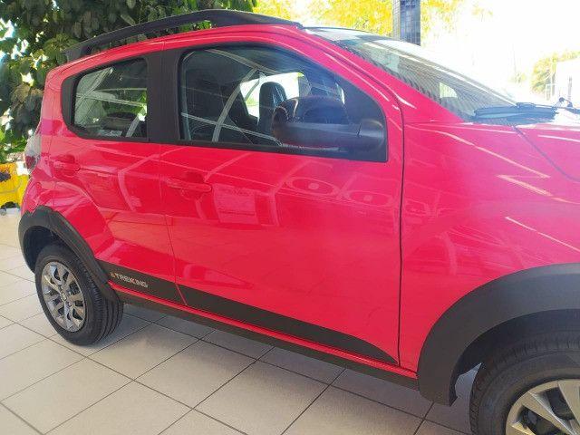 Fiat Mobi Trekking 2021/2021 - Vermelho | Oferta: R$ 50.700