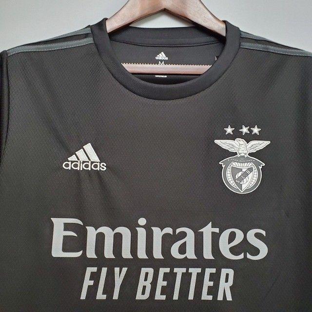 Benfica Portugal 2021 Lançamento Frete Grátis - Foto 2