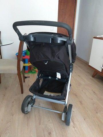 Carrinho de bebê Chicco Bravo semi novo  - Foto 3
