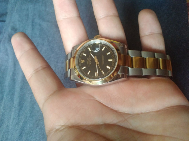 Rolex Datejust e bvlgari
