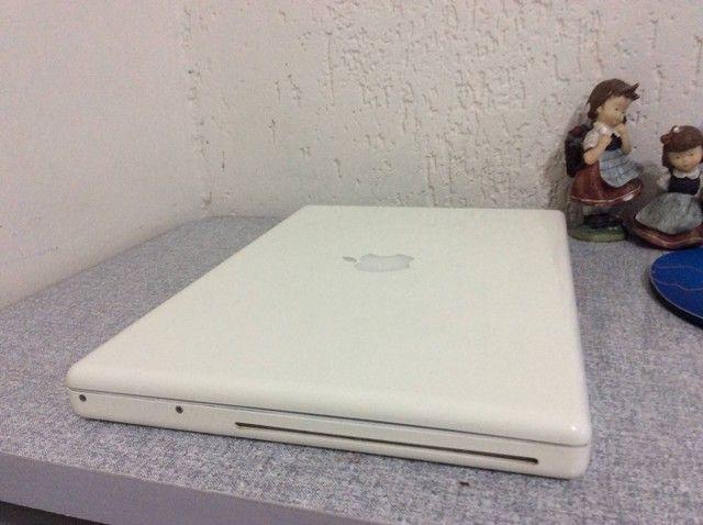 Notebook MacBook White com SSD - Foto 2