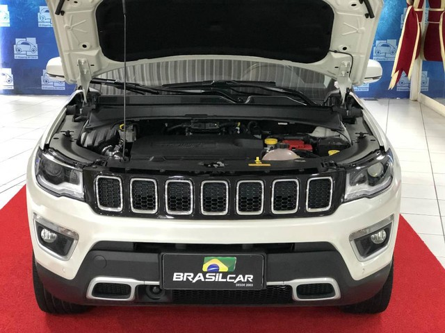 Jeep Compass LIMITED 2.0 4x4 Diesel AT - High Tech + Teto Solar!!! - Foto 20