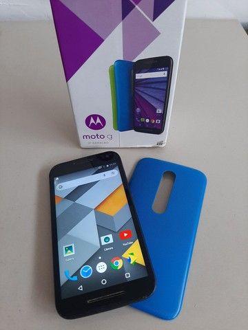 Smartphone MotoG 3°geração aceito cartão
