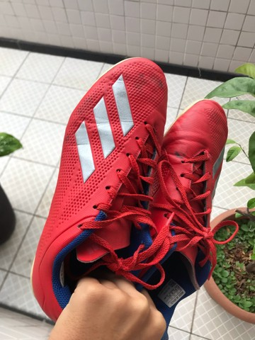Chuteira Futsal adidas X 18.4 IN - Foto 3