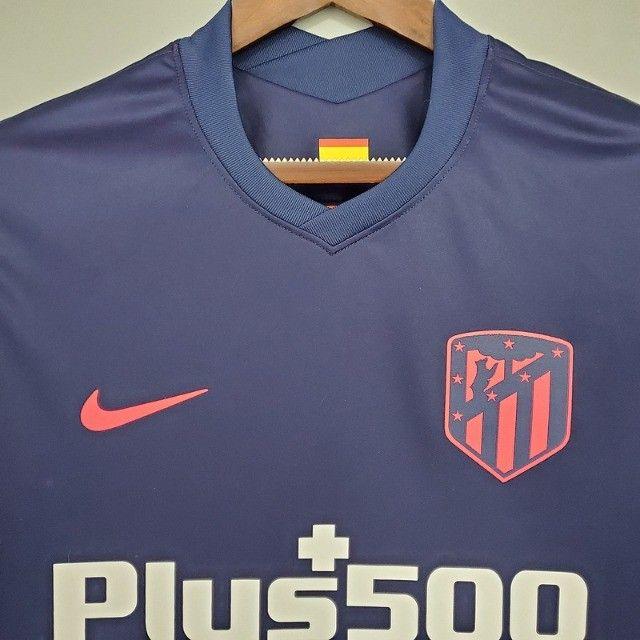 Atlético de Madrid Espanha 2021 Lançamento Frete Grátis - Foto 5