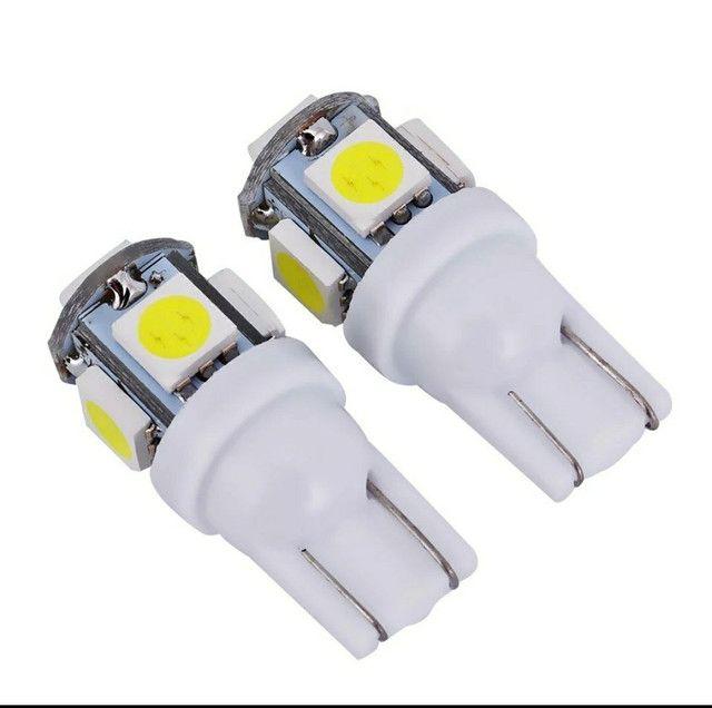 Par de Lampadas Super LED (BAIXOU!!) H1 H27 H3 H4 H7 HB3 HB4 H11 H8 H16 - Foto 6