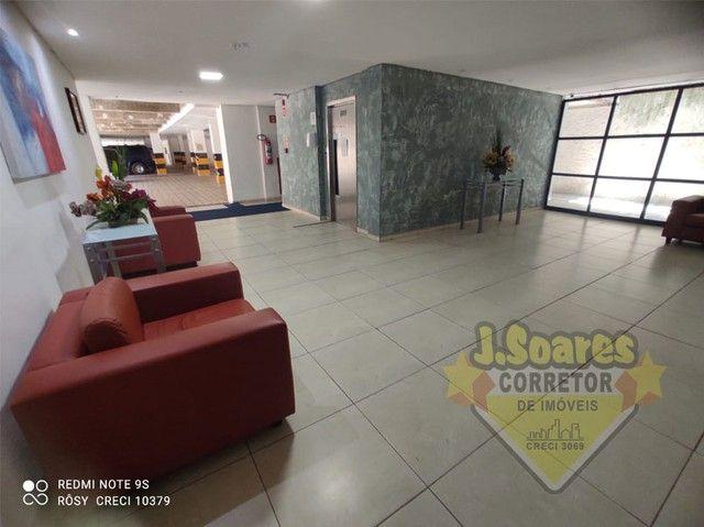 Manaíra, Beira-Mar, 2 quartos, 60m², R$ 1550 C/Cond, Aluguel, Apartamento, João Pessoa - Foto 11