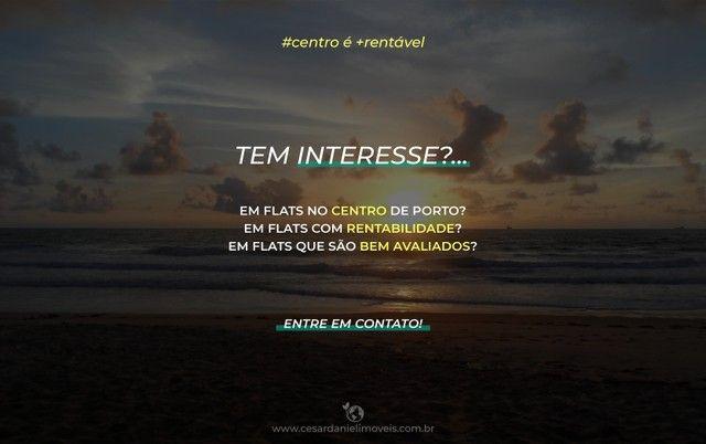 Flat com Piscina Privativa na Praia do Cupe a 100m do mar | 1 Quarto +32m² - Foto 18