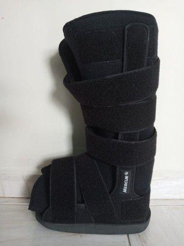 bota ortopedica modelo robofit ela e cano alto tamanho medio - Foto 6