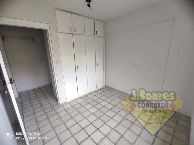 Manaíra, Beira-Mar, 2 quartos, 60m², R$ 1550 C/Cond, Aluguel, Apartamento, João Pessoa - Foto 9
