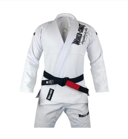 Kimono Jiu Jitsu Masculino WORLD x COMBAT Profissional Bjj