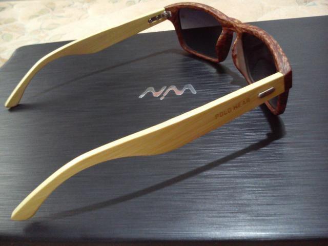 afbb4d799 Óculos de Sol Polo Wear Amadeirado Novo (80,00) - Bijouterias ...