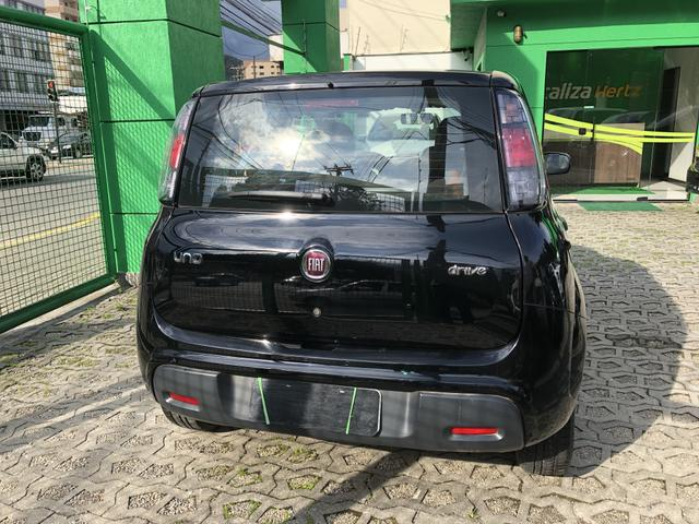 Nova Fiat Uno Drive 1.0 Completa Preta 2018 - Foto 3