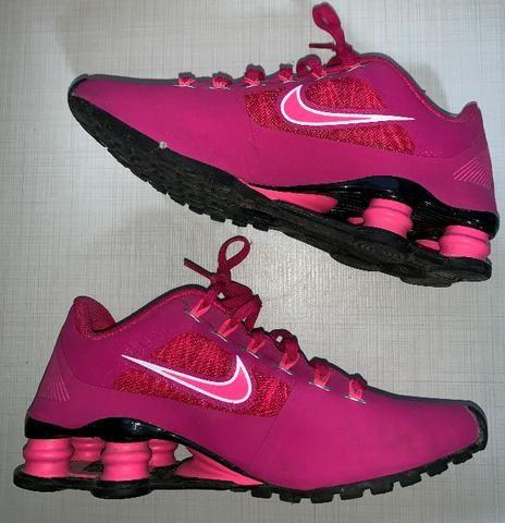451e3dec8bd Nike Shox Feminino Rosa Pink Tamanho 36 - Roupas e calçados - Nova ...