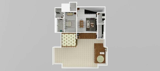 Apartamento em Ipatinga, 2 qts/suíte, Elevador, 67 m². Valor 190 mil - Foto 6
