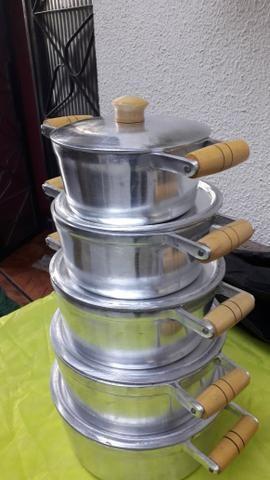 Panelas de alumínio batido Grosso - Foto 4