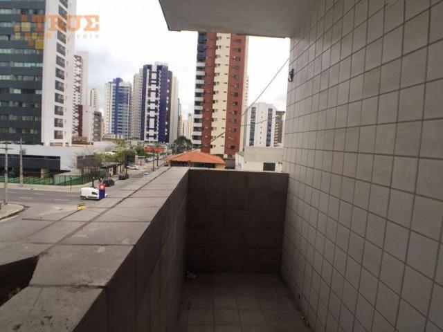 Apartamento com 3 dormitórios para alugar, 95 m² por R$ 2.000,00/mês - Boa Viagem - Recife - Foto 5