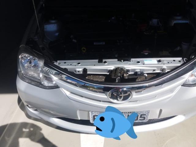 Urgentee Vendo ou Troco Toyota Etios 2017 Sedan, Completo Autom. bem abaixo da Fipe - Foto 7