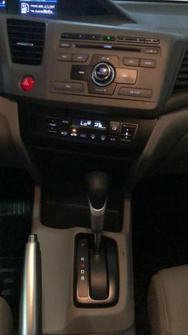 Honda-Civic LXR 2.0 Automático Branco 2014/14 - Foto 11