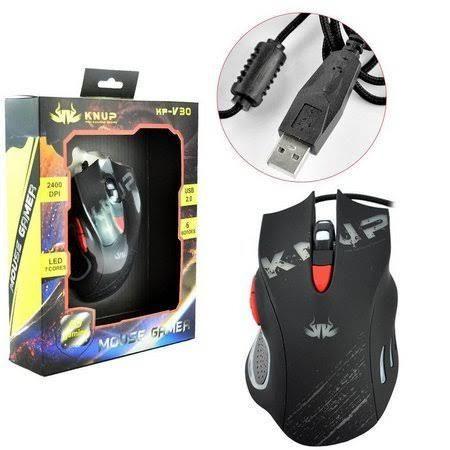 Gamer Mouse 2400 dpi- (Loja na Cohab) Somos a Melhor Loja de São Luís