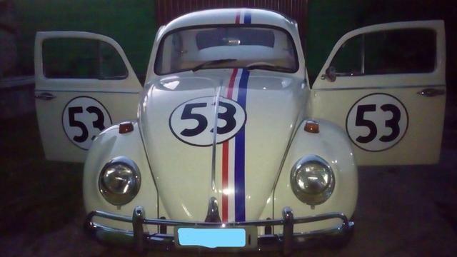Fusca Herbie - ano 1966 - doc ok - Foto 2