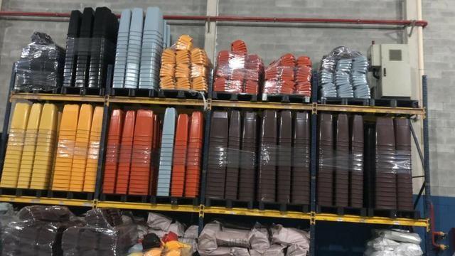 Longarina FIEL 2,20 MTS - 2.400 kgs por nivel - R$ 67,00 cada - Foto 2