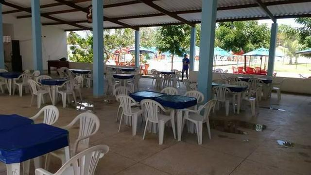 Restaurante/bar mobiliado + Balneário (piscinas) + Casa ampla (~15 cômodos) - Foto 3