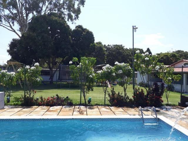 Restaurante/bar mobiliado + Balneário (piscinas) + Casa ampla (~15 cômodos) - Foto 9