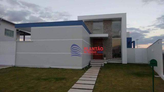 Linda casa linear com 4 quartos alto padrão no Viverde fase 2 - Foto 16