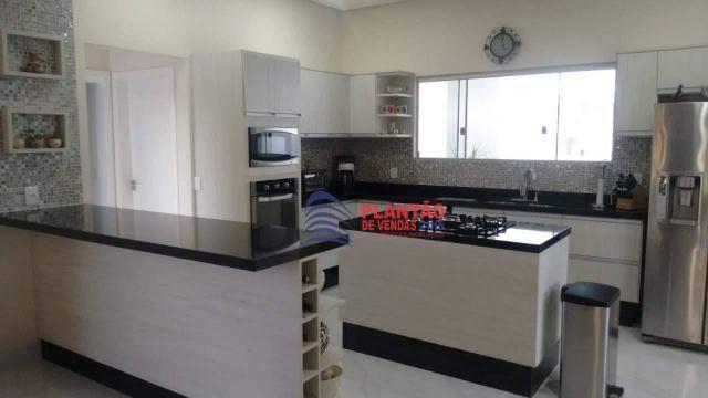 Linda casa linear com 4 quartos alto padrão no Viverde fase 2 - Foto 6