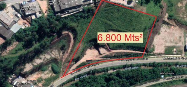 Terreno para alugar com 0 dormitórios em Área industrial, Várzea paulista cod:1204