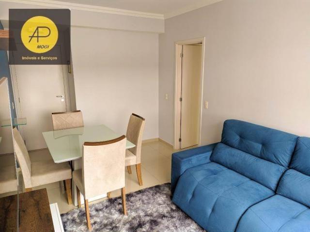 Apartamento com 1 dormitório para alugar, 46 m² - Centro Cívico - Mogi das Cruzes/SP - Foto 5