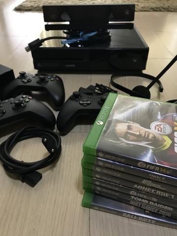 Xbox one 500gb pouco uso COMPLETÍSSIMO com 8 jogos. Parcela em 12x no cartão - Foto 3