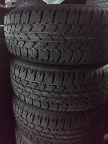 Jogo aro 17) da rillux zeros com pneus - Foto 2
