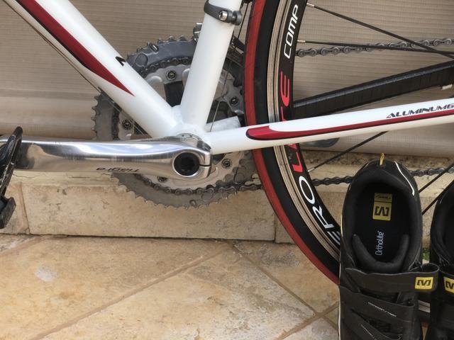 Oportunidade!!Speed Caloi sprint20 toda tiagra 20v tamanho 54 !bike extremamente nova !!! - Foto 3