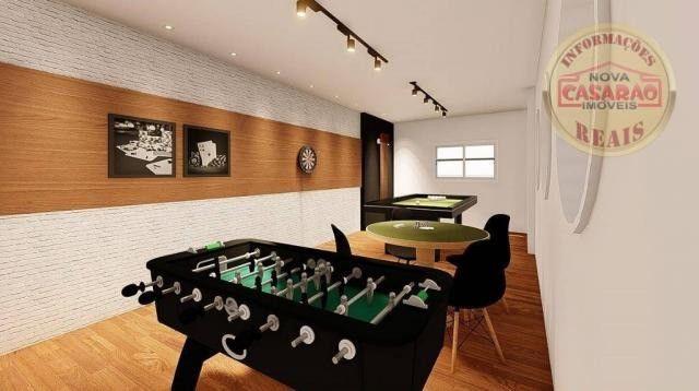 Apartamento com 2 dormitórios à venda, R$ 458.350,00 - Canto do Forte - Praia Grande - Foto 13