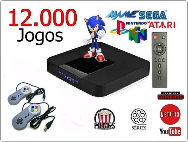 Retro Games 12 Mil Jogos + Tv / Filmes / Séries