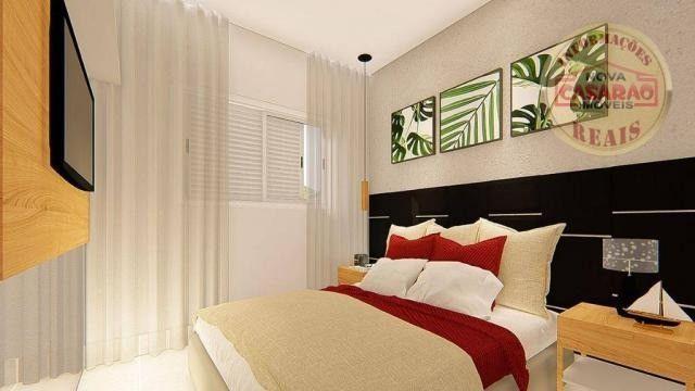 Apartamento com 2 dormitórios à venda, R$ 458.350,00 - Canto do Forte - Praia Grande - Foto 9