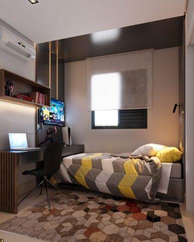 Apartamento com 3 quartos | 1 suíte e 2 semi-suítes | Varanda Gourmet | 2 vagas | Bairro F - Foto 6