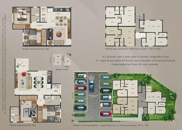 Cobertura à venda com 2 dormitórios em Gloria, Belo horizonte cod:15780 - Foto 2