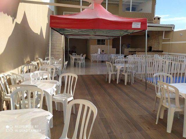 Mesas e cadeiras de plástico de qualidade novas de fabrica - Foto 3