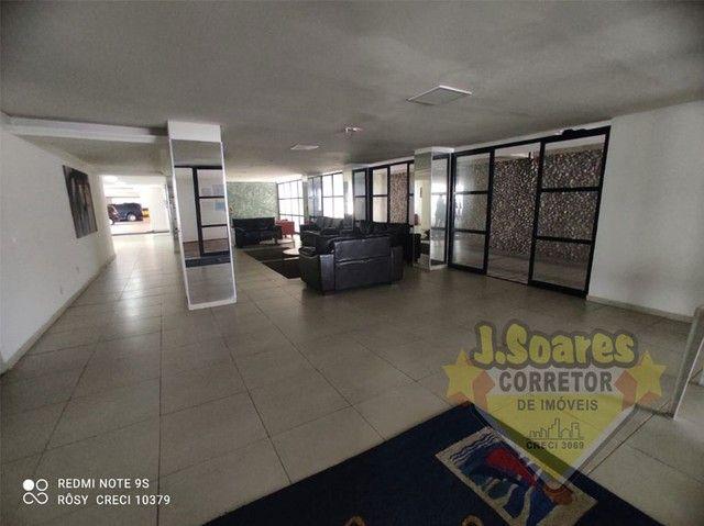 Manaíra, Beira-Mar, 2 quartos, 60m², R$ 1550 C/Cond, Aluguel, Apartamento, João Pessoa - Foto 12