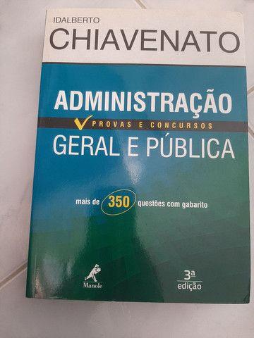 Livro administração geral e publica