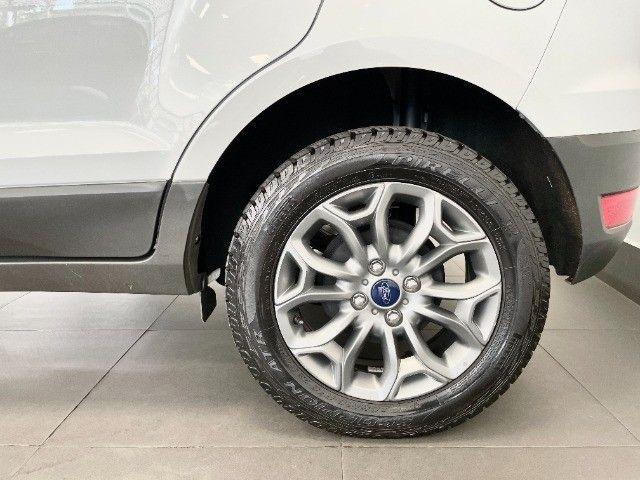 Ford Ecosport 1.6 Freestyle + Couro e Pneus novos - Foto 9