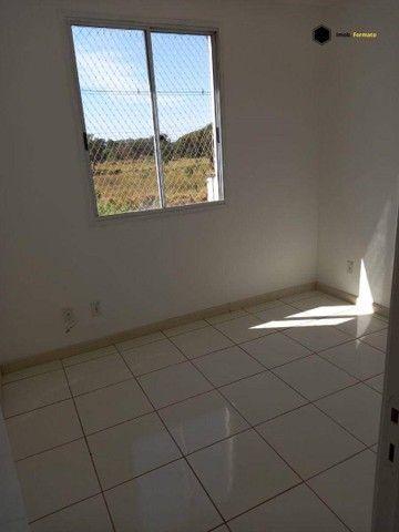 Apartamento com 2 dormitórios para alugar, 55 m² por R$ 1.100,00/mês - Rita Vieira - Campo - Foto 4