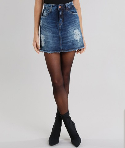 Saia jeans T.40