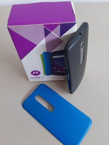 Smartphone MotoG 3°geração aceito cartão  - Foto 3